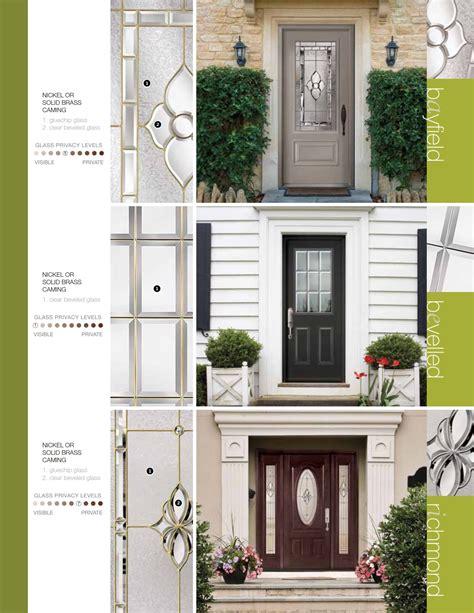 Steel Fiberglass Front Door Systems Trutech 049 Eurostar Front Door System