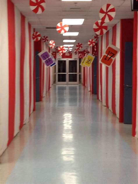 christmas themes for hallways 81 best images about program candyland on pinterest