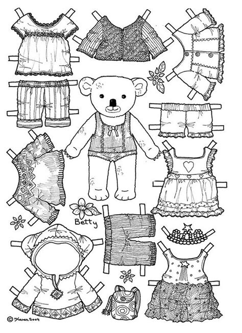 boy doll coloring page boy paper doll coloring pages alltoys for