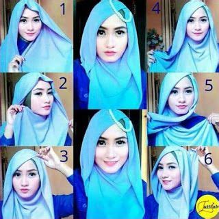 tutorial jilbab segi 4 modis 1000 images about hijab terbaru fashion dan aksesoris on