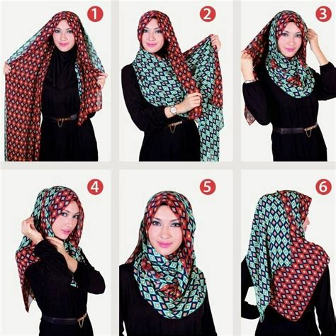 tutorial hijab vasmina simple cara pakai hijab shawl with hijab tutorial hijabiworld