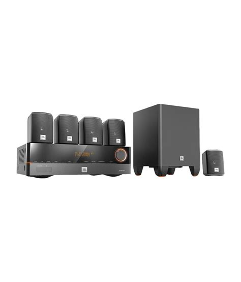 jbl cinesystem 500si 5 1 home theatre system with avr 101