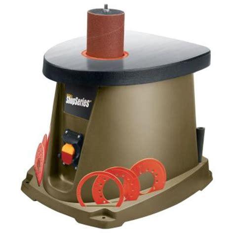 bench sander home depot rockwell 3 5 amp oscillating spindle sander rk9011 the