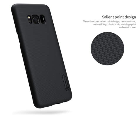 Matte Samsung S8 Black Anti Minyak Softcase Jelly 1 jual nillkin frosted shield for samsung galaxy s8 black combo cell mobile phone