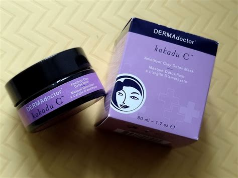 Dermadoctor Kakadu C Amethyst Clay Detox Mask by Makeup And More Dermadoctor Kakadu C Amethyst