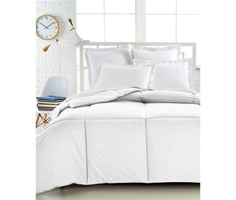 down alternative comforter twin xl charter club superluxe white twin twin xl down