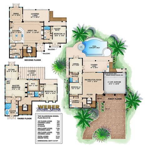weber design group home plans islamorada home plan weber design group naples fl