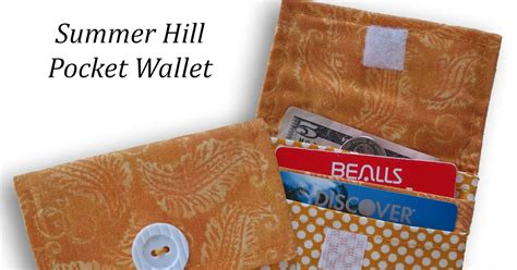 Summer Soles Discount For Hill Readers by Corners Of My Pocket Wallet Tutorial