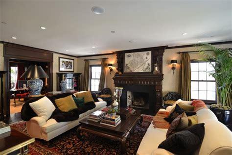 dark wood living room 17 dark living room designs ideas design trends