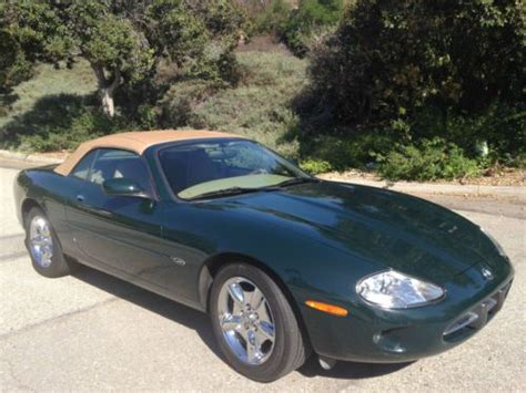 how to work on cars 1997 jaguar xk series transmission control buy used 1997 jaguar xk8 convertible in upland california united states