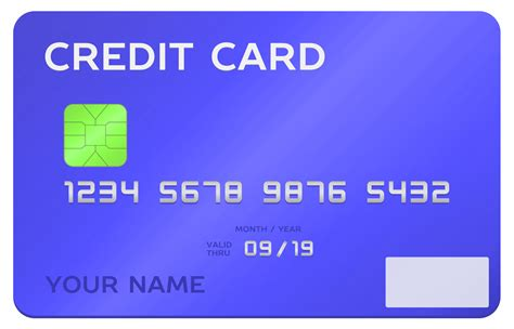 credit card template transparent credit card vector png transparent image pngpix