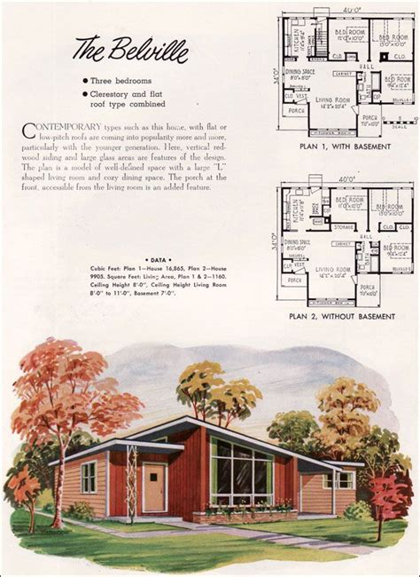 small retro house plans 25 best ideas about vintage house plans on pinterest house representatives sears craftsman