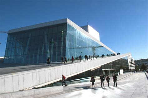 design engineer oslo snohetta s design for the oslo opera house