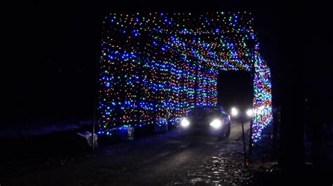 gift of lights 100 foot christmas light tunnel ottawa ont