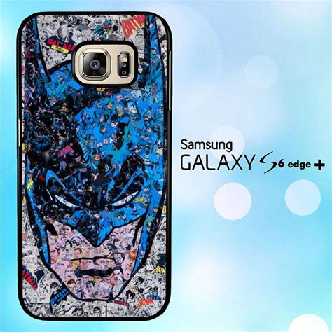 Casing Hp Samsung S6 Edge Batman Custom Hardcase Cover mozaic batman comic j0265 samsung galaxy s6 edge plus copypixlr