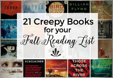 A Creepy Book 21 creepy books for your fall reading list sheri dacon