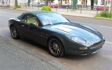 aston martin racing green file racing green aston martin db7 volante fr jpg