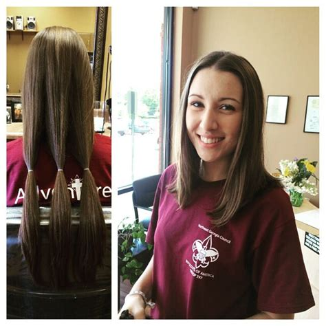 haircuts after donating hair 17 best images about hair donation 176 on pinterest medium
