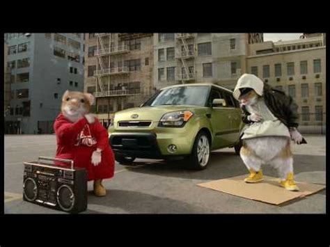 Kia Soul Rat Commercial Can Hamsters Be Gansta Basic Black