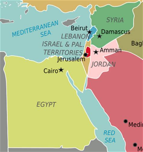 middle east map vox everything you need to about israel palestine vox