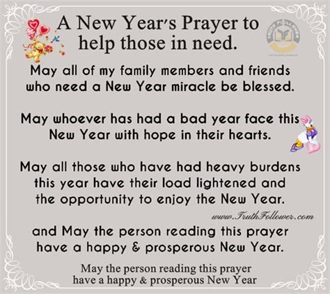 a new year s prayer to help those in need