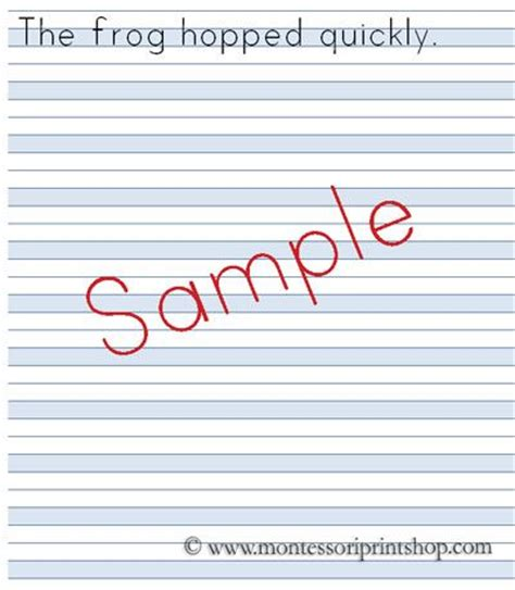 printable montessori writing paper 1000 images about montessori papers on pinterest