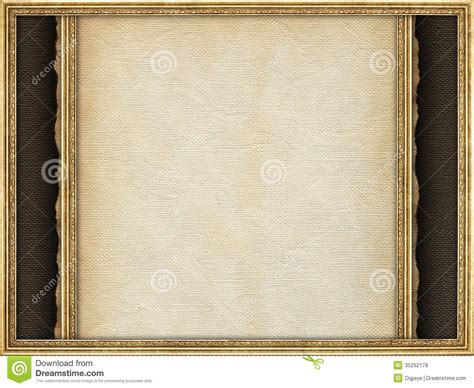 paper picture frame template paper sheet and picture frame royalty free stock photos