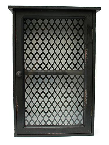 schrank zum aufhängen vitrinenschr 228 nkchen zum h 228 ngen vintage schwarz