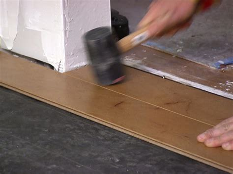 How To Install Engineered Wood Flooring by How To Install An Engineered Hardwood Floor How Tos Diy