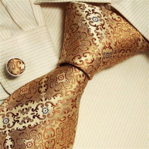 gold pattern ties gold pattern ties for men father s day gift ideas