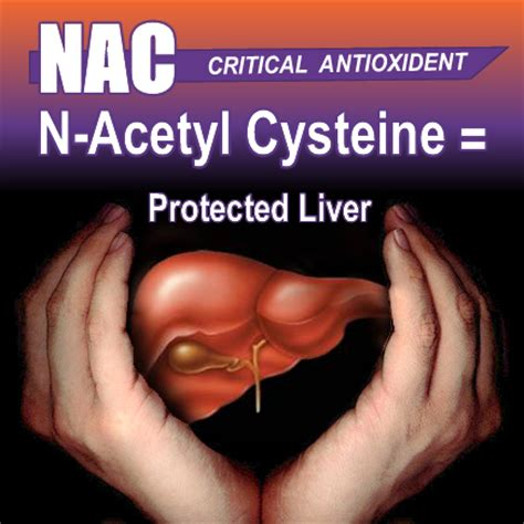 Best Way To Detox Liver Is With Nac by N Acetyl Cysteine Protects Your Liver Pharmacistben