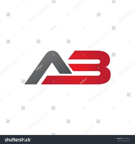 Address Finder Alberta Ab A3 Company Linked Letter Logo Stock Vector Illustration 318620012