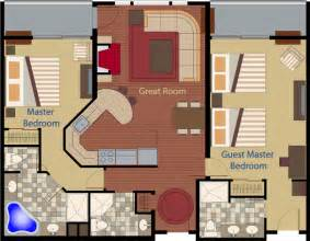 cape codder residence club floor plans two bedroom