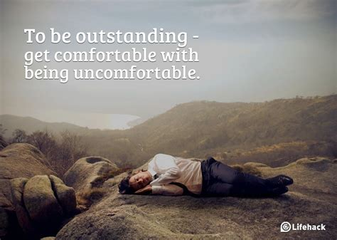 to be comfortable with being comfortable quotes quotesgram
