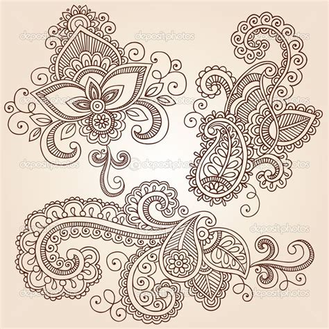 paisley doodle ideas could put finger prints in the paisley design henna