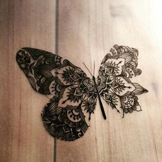 mandala tattoo with butterfly gorgeous butterfly mandala tattoo ideas pinterest