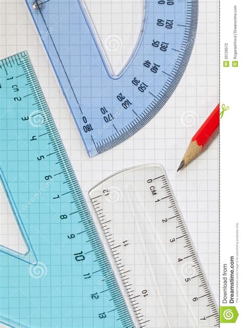 printable square protractor protractor ruler set square pencil stock photo image of
