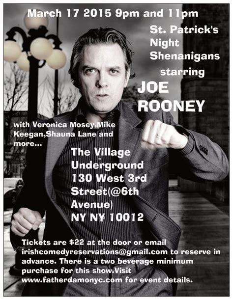 s day comedy st s day comedy with joe rooney