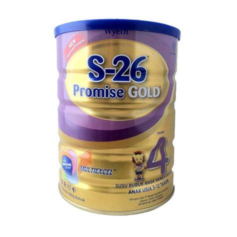 Wyeth S 26 Promise Gold Tahap 4 Vanila Kemasan Karton 1400gr jual daily deals s26 promise gold tahap 4 formula 900 g harga kualitas