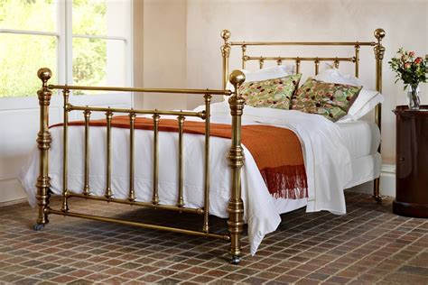 brass beds hardy victorian luxury metal bed frame in brass or nickel and so to bed