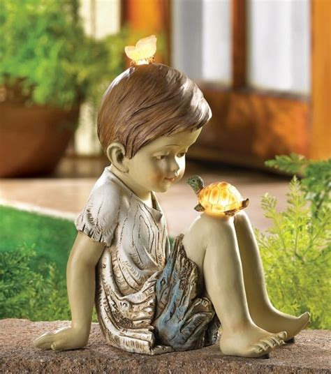 solarlichter garten solar lighted garden statue fresh garden decor