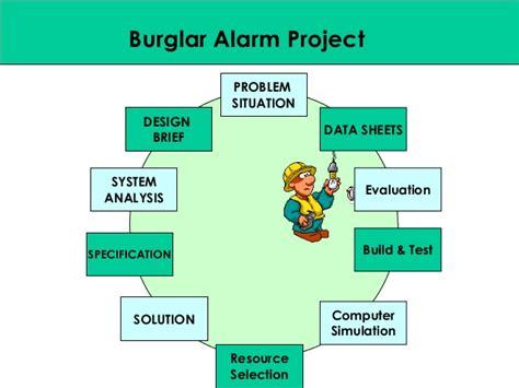 design brief of a circuit alarm circuit