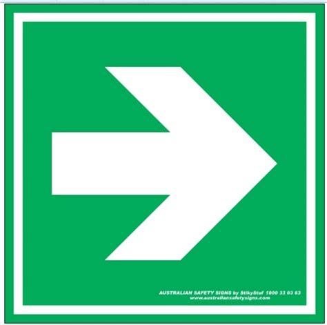 Sticker Safety Sign Traffic Sign Arah Kiri 2 Rambu Pintu Darurat Rambu Keselamatan Kerja Gt Gt Rambu K3