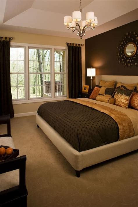 accent wall color master bedroom paint one side wall i like the dark color