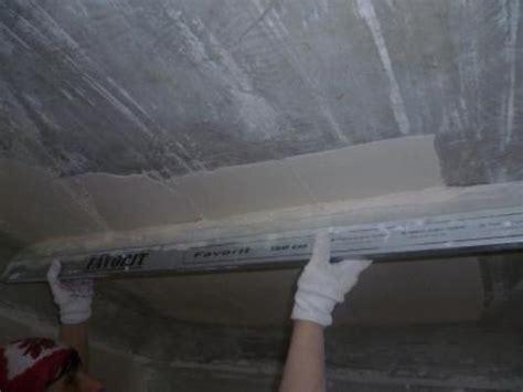 intonacare soffitto