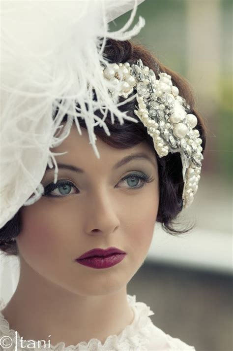 Vintage Wedding Hair And Makeup by Adorable Vintage Wedding Makeup Gallery