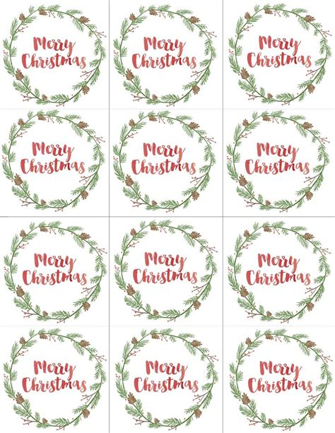 free printable christmas gift tags for food best 25 christmas labels ideas on pinterest christmas