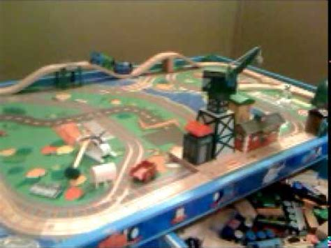 thomas the tank engine train table thomas the tank engine train track table setup 2 youtube