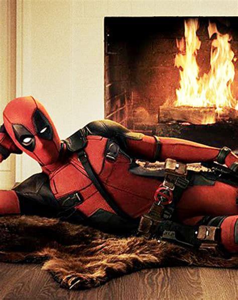Burt Bearskin Rug by Reveals Deadpool Suit Channels Burt