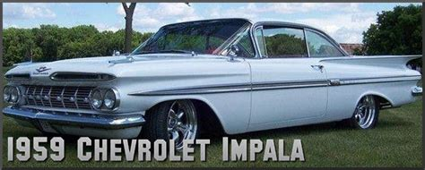 59 chevrolet impala 1959 chevrolet impala factory paint colors